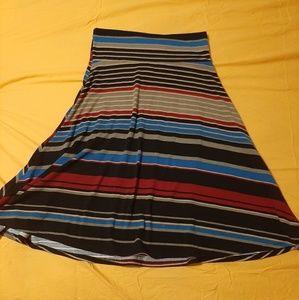 XS lularoe azure skirt